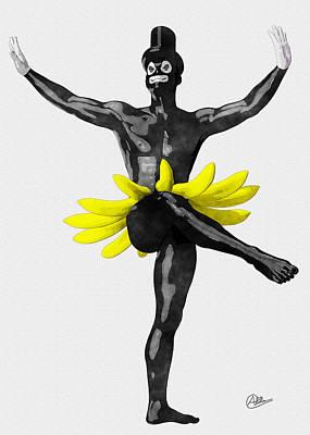 Bohemian Drawing - Brazil  by Quim Abella