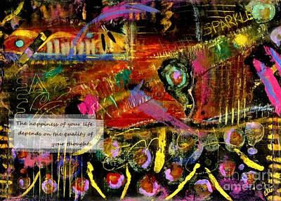 Brazilian Festival Print by Angela L Walker