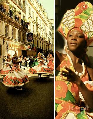 Dyptich Photograph - Brazilian Festival II by Louise Fahy