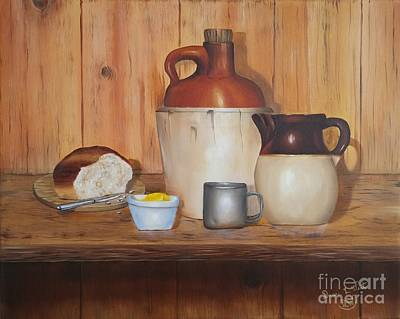 Bread And Spirits Print by Duane West