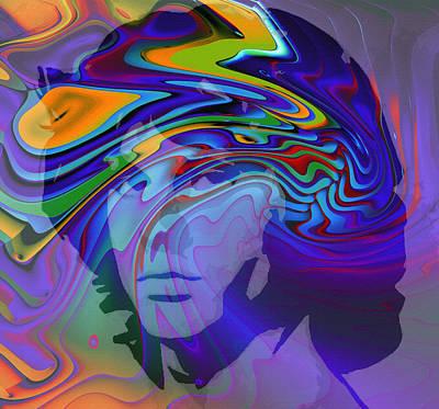 Singer Digital Art - Break On Through by Stefan Kuhn