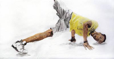 Hop Drawing - Breakdance 4 by Jani Heinonen