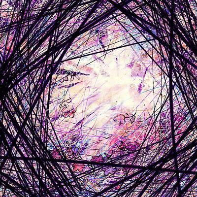 Disorder Digital Art - Breakdown by Rachel Christine Nowicki