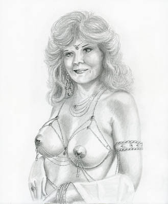 Sexy Drawing - Breast Adornments by Shelby