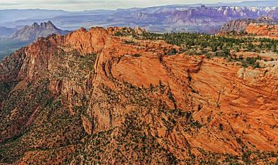 Breathtaking Geology Print by Loree Johnson