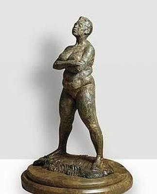 Richard Macdonald Sculpture - Brenda by Richard MacDonald