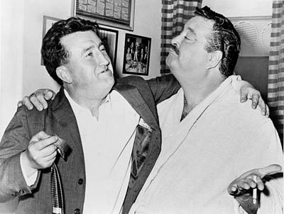 Jackie Gleason Photograph - Brendan Behan 1923-1964, Irish Author by Everett