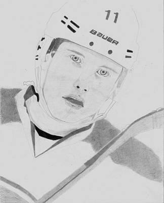Montreal Canadiens Drawing - Brendan Gallagher by Andre Kominik