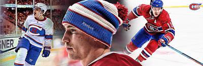 Montreal Canadiens Digital Art - Brendan Gallagher Artwork by Nicholas Legault