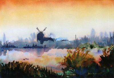 Ressler Painting - Breton Morning Light by John Ressler