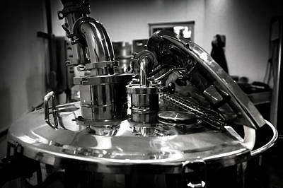 Brite Photograph - Brewing Tank by David Patterson