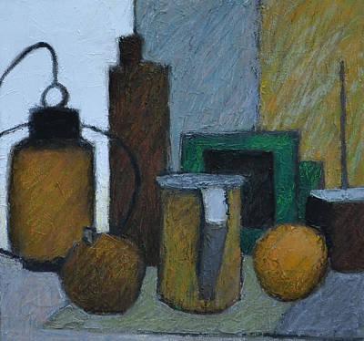 Bottle Painting - Bric A Brac by Jeremy Annett