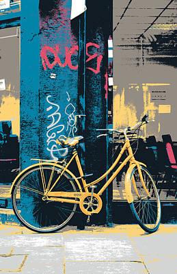 Brick Lane Bicycle Print by Shay Culligan