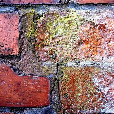 Brick Wall Print by Roberto Alamino