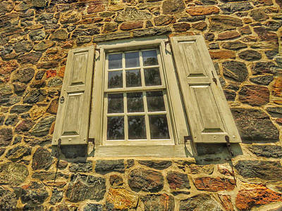 Brandywine Battlefield Photograph - Bricks And Mortar I by Kathi Isserman