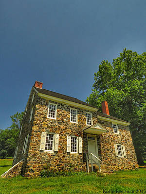 Brandywine Battlefield Photograph - Bricks And Mortar by Kathi Isserman