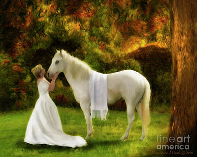 Christian Artwork Digital Art - Bridal Revival by Constance Woods