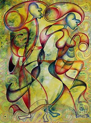 Painting - Bride And Groom by Abu Artist
