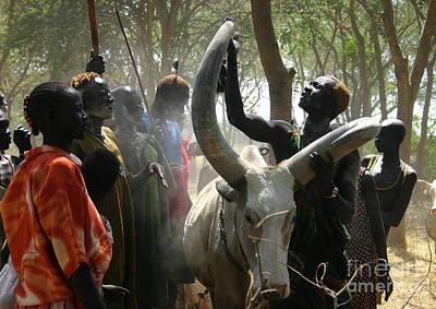 Dinka Photograph - Bride Price by Irene Abdou