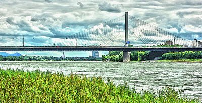 Abstract Photograph - Bridge Abstract by Ralph Klein
