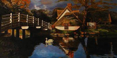 Bridge Cottage Original by Keith Gantos