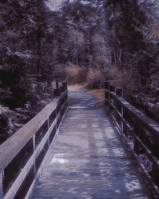 Bridge In The Shenandoah Print by Susan  Epps Oliver