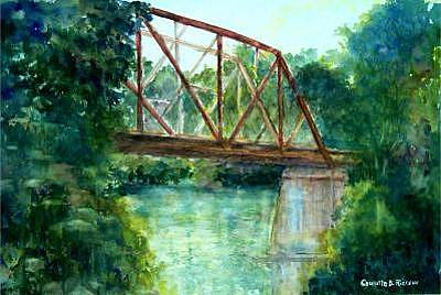 Painting - Bridge Of Memories by Charlotte Bailey Rierson