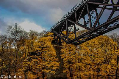 Bridge Of Size Print by Jesse Cuddahee
