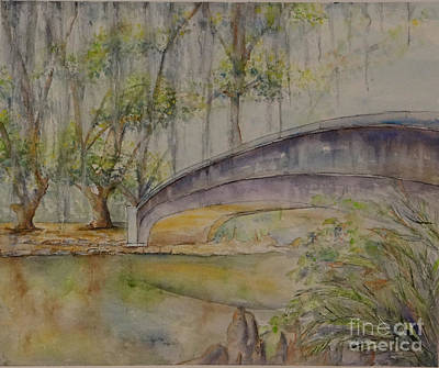 Painting - Bridge Over A Bayou by Catherine Wilson