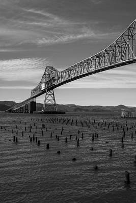 Photograph - Bridge Over Columbia by Jeff Kolker