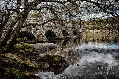 Snowdonia Photograph - Bridge Over Llyn Padarn by Amanda Elwell