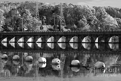 Bridge Reflection Print by Karol Livote