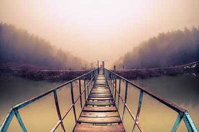 Bridge To Infinity Print by Okan YILMAZ
