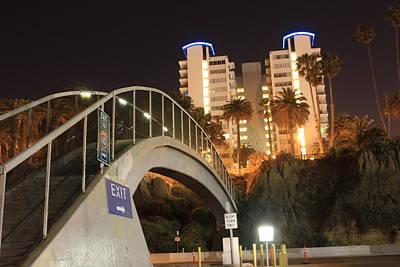 Santa Monica Digital Art - Bridge To Santa Monica by Sheri  Neva