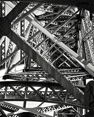 Bridges. Print by Nora Meyer