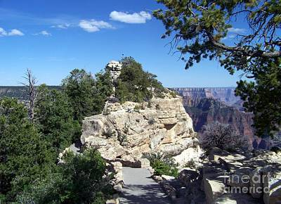 Grand Canyon National Park Photograph - Bright Angel by Charles Robinson
