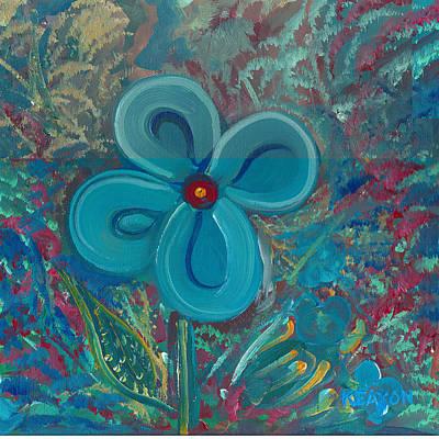 Painting - Bright Blue by John Keaton