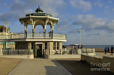 Brighton Bandstand Print by Stephen Smith