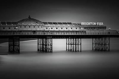 Brighton Photograph - Brighton Pier, England by Ivo Kerssemakers