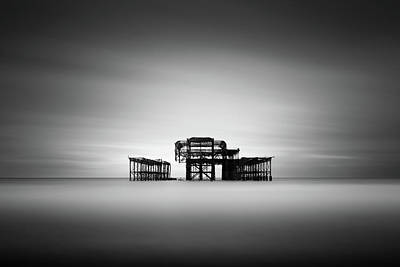 Brighton Photograph - Brighton West Pier by Ivo Kerssemakers