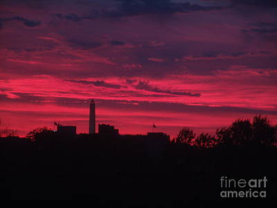 Brilliant Sunset 2 Print by Rod Ismay