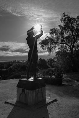 Mission San Juan Bautista Photograph - Bring Me Light by Mumtaz Shamsee
