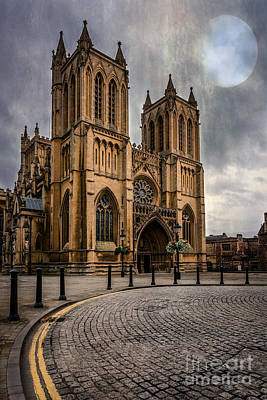 Bristol Cathedral Print by Adrian Evans