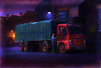 Nightime Painting - Bristol Ha Artic by Mike  Jeffries
