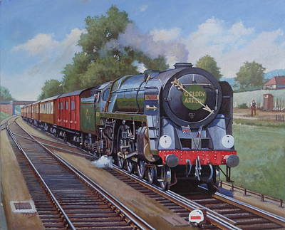 Britannia Pacific On The Golden Arrow. Original by Mike  Jeffries