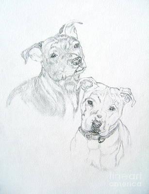 Buddy Drawing - Brittney by Nancy Rucker