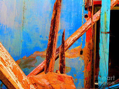 Broken Beams By Michael Fitzpatrick Print by Mexicolors Art Photography