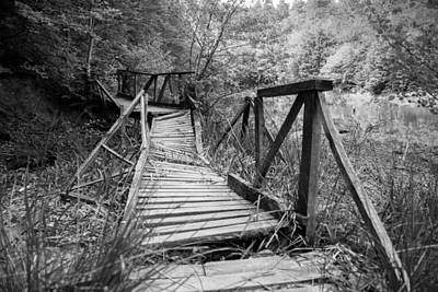 Broken Bridge Original by Murat Boztas