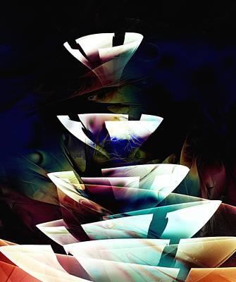 Digital Art - Broken Glass by Anastasiya Malakhova