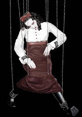 Broken Melody - Self Portrait Print by Jaeda DeWalt